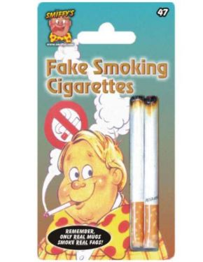 Joke Cigarettes Pack of 2 Fake Cigs